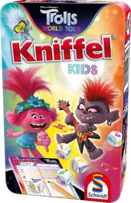 Trolls - Kniffel Kids (Metalldose) (mult)