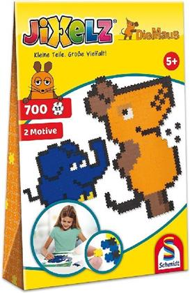 Jixelz: Die Maus - 700 Teile Kinderpuzzle