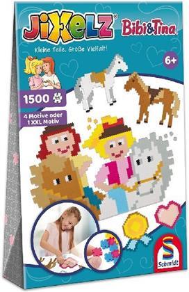Jixelz: Bibi & Tina - 1500 Teile Kinderpuzzle