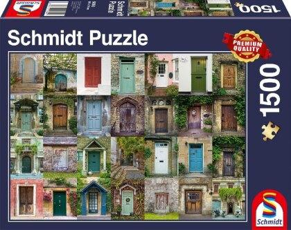Türen - 1500 Teile Puzzle