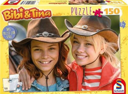Bibi & Tina Motiv 1 - 150 Teile Puzzle