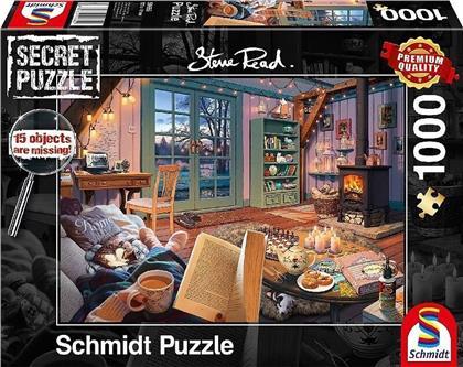 Secret Puzzle: Im Ferienhaus - 1000 Teile Puzzle