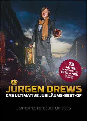 Jürgen Drews - Das Ultimative Jubiläums-Best-Of (+ Photobook, Limited Edition, 2 CDs)