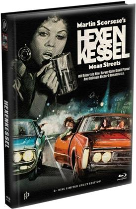 Hexenkessel - Mean Streets (1973) (Cover A, Limited Edition, Mediabook, Uncut, Blu-ray + DVD)
