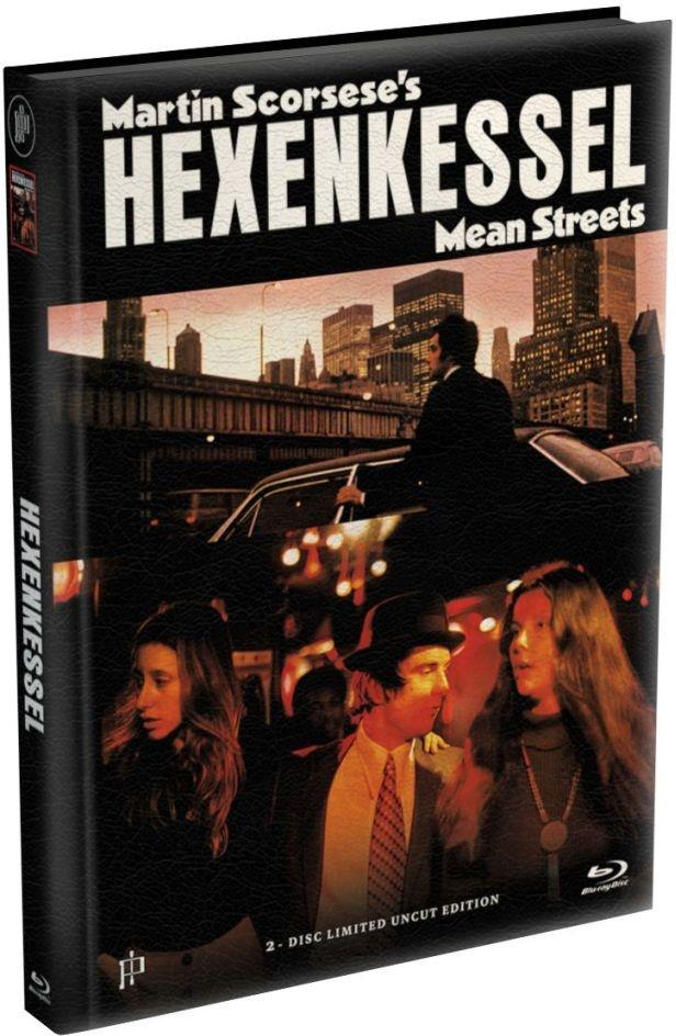Hexenkessel - Mean Streets (1973) (Cover B, Limited Edition, Mediabook, Uncut, Blu-ray + DVD)