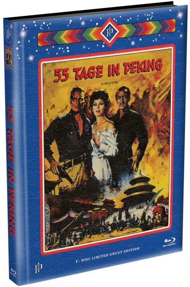 55 Tage in Peking (1963) (Limited Edition, Mediabook, Uncut)