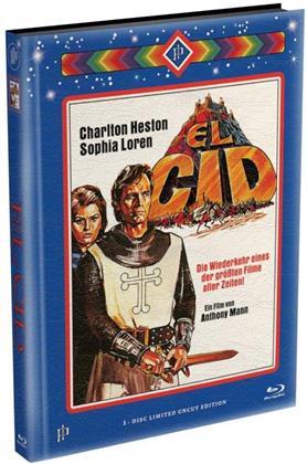 El Cid (1961) (Wattiert, Edizione Limitata, Mediabook, Uncut)