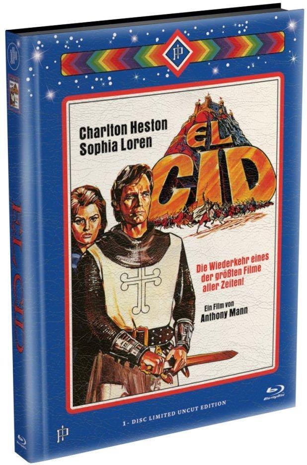 El Cid (1961) (Wattiert, Limited Edition, Mediabook, Uncut)