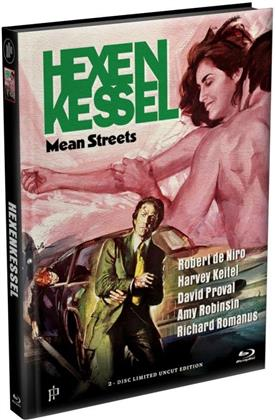 Hexenkessel - Mean Streets (1973) (Cover C, Limited Edition, Mediabook, Uncut, Blu-ray + DVD)