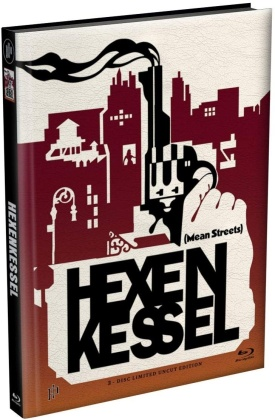 Hexenkessel - Mean Streets (1973) (Cover D, Limited Edition, Mediabook, Uncut, Blu-ray + DVD)