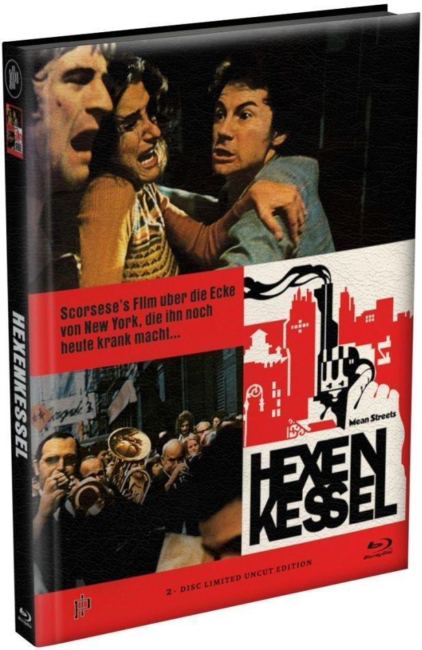 Hexenkessel - Mean Streets (1973) (Cover E, Limited Edition, Mediabook, Uncut, Blu-ray + DVD)