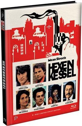 Hexenkessel - Mean Streets (1973) (Cover G, Edizione Limitata, Mediabook, Uncut, Blu-ray + DVD)