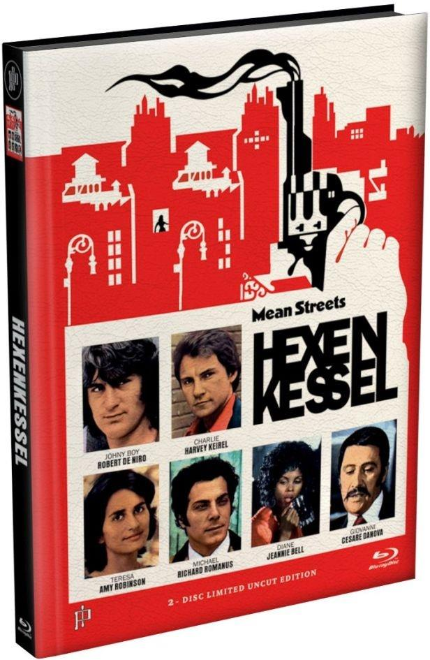 Hexenkessel - Mean Streets (1973) (Cover G, Limited Edition, Mediabook, Uncut, Blu-ray + DVD)