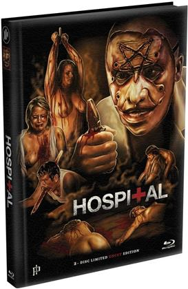 Hospital (2013) (Cover A, Limited Edition, Mediabook, Uncut, Blu-ray + DVD)