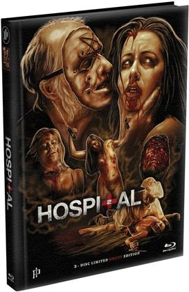 Hospital 2 (2015) (Cover A, Limited Edition, Mediabook, Uncut, Blu-ray + DVD)