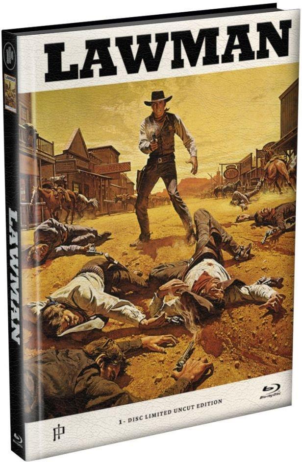 Lawman (1971) (Limited Edition, Mediabook, Uncut)