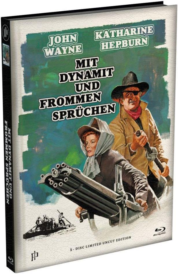 Mit Dynamit und frommen Sprüchen (1975) (Limited Edition, Mediabook, Uncut)