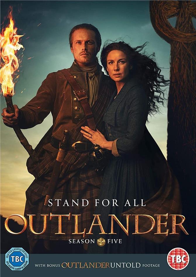Outlander - Season 5 (4 DVDs)