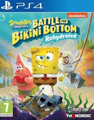 Spongebob SquarePants : Battle for Bikini Bottom - Rehydrated