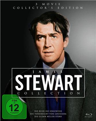James Stewart Collection - Die Reise ins Ungewisse / Die Todesbucht von Louisiana / Die Glenn Miller Story (3 Blu-rays)