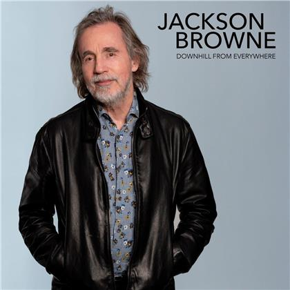 """Jackson Browne - Downhill From Everywhere/A Little Soon To Say (12"""" Maxi)"""
