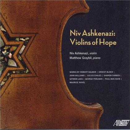 George Perlman, Paul Ben-Haim (1897-1984), Maurice Ravel (1875-1937), Robert Dauber, Ernest Bloch (1880-1959), … - Violins Of Hope