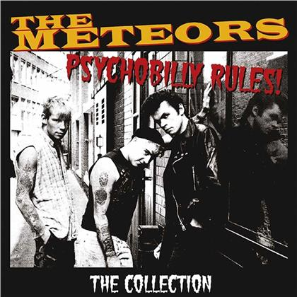 The Meteors - Psychobilly Rules - The Collection (Gatefold, Deluxe Edition, 2 LPs)
