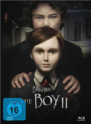 Brahms: The Boy 2 (2020) (Director's Cut, Versione Cinema, Edizione Limitata, Mediabook, 4K Ultra HD + Blu-ray)
