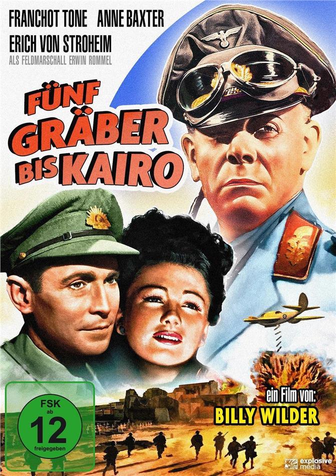 Fünf Gräber bis Kairo (1943) (s/w)