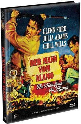 Der Mann vom Alamo (1953) (Limited Edition, Mediabook, Uncut)