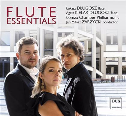 Johann Sebastian Bach (1685-1750), Franz Doppler (1821-1883), Astor Piazzolla (1921-1992), Marcin Blazewicz, Jan Milosz Zarzycki, … - Flute Essentials