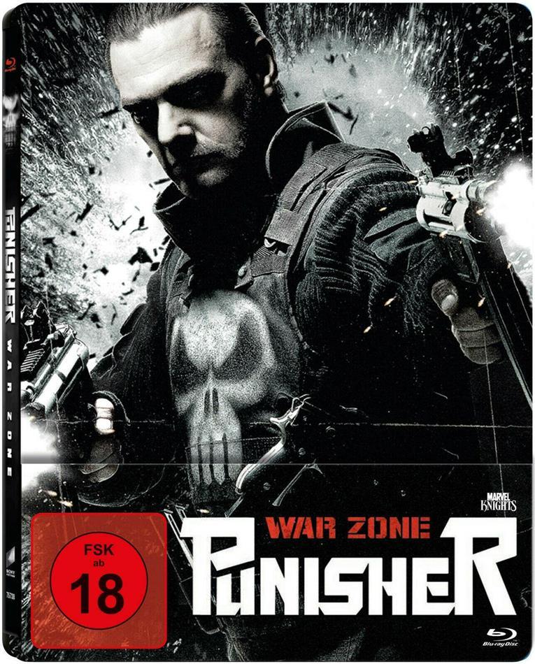 Punisher: War Zone (2008) (Limited Edition, Steelbook)