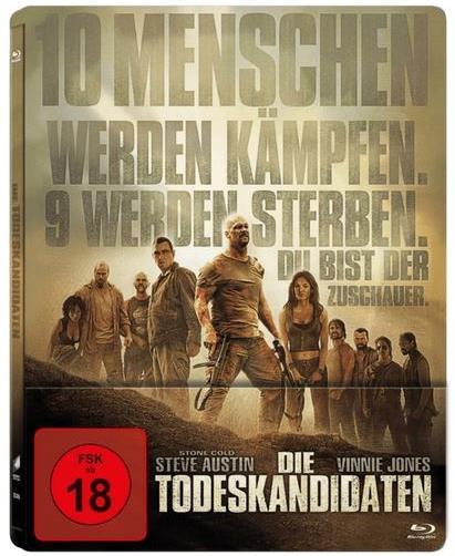 Die Todeskandidaten (2007) (Limited Edition, Steelbook)