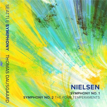 Carl Nielsen, Thomas Dausgaard & Seattle Symphony Orchestra - Symphonies 1 & 2 (Live)