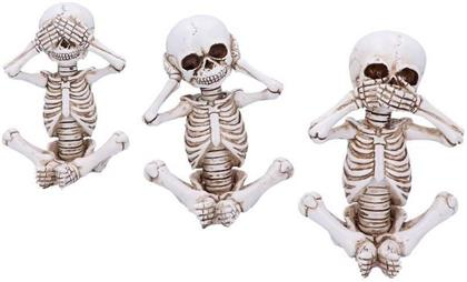 See No, Hear No, Speak No Evil - Skellywag Skeleton Figurines