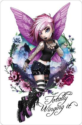 Hexxie Violet - Totally Winging It - Greet Tin Card