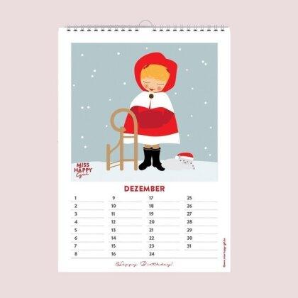 """Miss Happy """"Mein kleiner Geburstagskalender"""""""