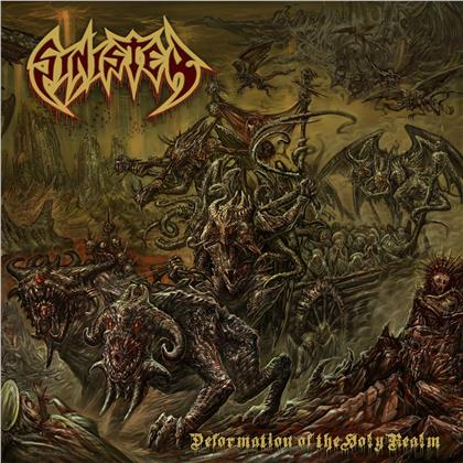 Sinister - Deformation Of The Holy Realm (Gatefold, Limited Edition, Red Vinyl, LP)