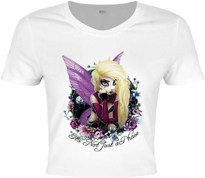 Hexxie Izzy - It's Not Just A Phase - Crop Top