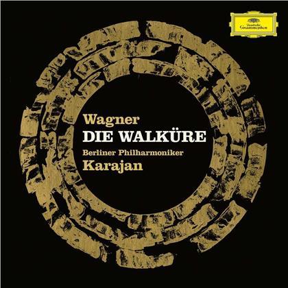 Berliner Philharmoniker, Herbert von Karajan & Richard Wagner (1813-1883) - Die Walküre (4 CDs + Blu-ray)