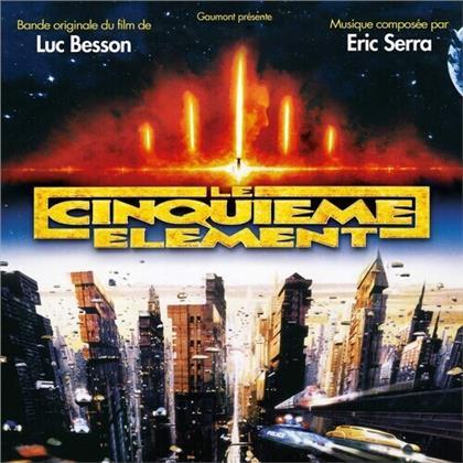 Eric Serra - Le Cinquieme Element - OST (2020 Reissue, Orange Vinyl, 2 LPs)