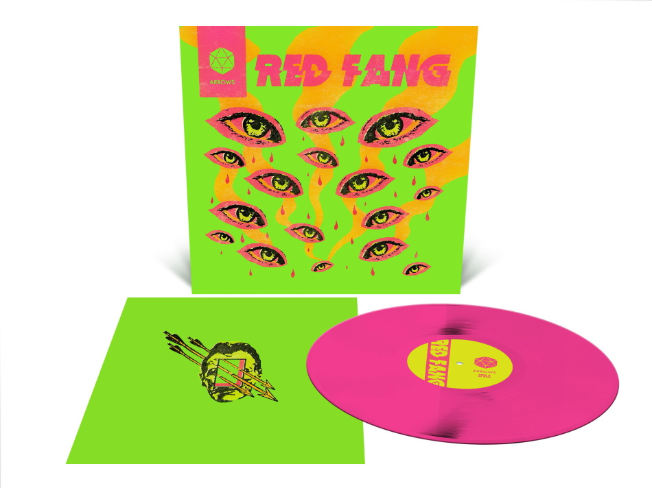 Red Fang - Arrows (Limtied Edition, Neon Magenta Vinyl, LP)