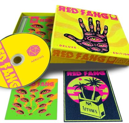 Red Fang - Arrows (+ Patch, + Sticker, Edizione Limitata)