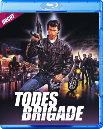 Todesbrigade (1985) (Limited Edition, Uncut, Blu-ray + DVD)