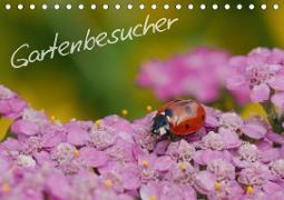 Gartenbesucher (Tischkalender 2021 DIN A5 quer)