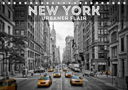 NEW YORK Urbaner Flair (Tischkalender 2021 DIN A5 quer)