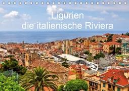 Ligurien - die italienische Riviera (Tischkalender 2021 DIN A5 quer)