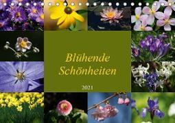 Blühende Schönheiten 2021 (Tischkalender 2021 DIN A5 quer)