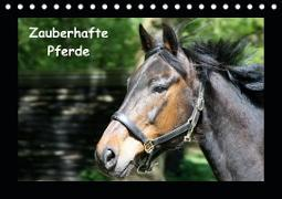 Zauberhafte Pferde (Tischkalender 2021 DIN A5 quer)