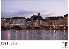 Basel 2021 - Timokrates Kalender, Tischkalender, Bildkalender - DIN A5 (21 x 15 cm)